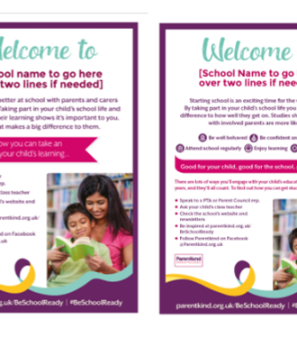 Primary Be School Ready posters and flyers
