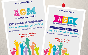 AGM posters