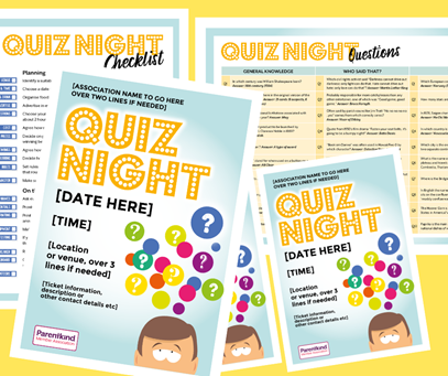Parentkind quiz packs