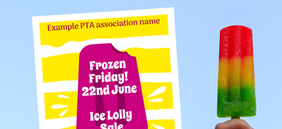 Ice Lolly Sale poster