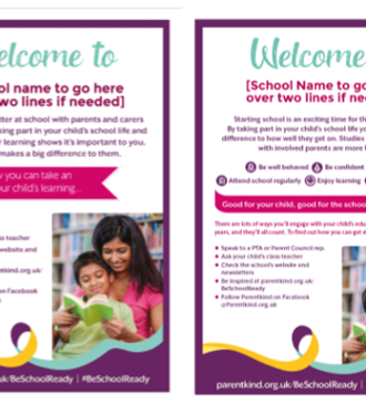 Primary Be School Ready poster and flyer