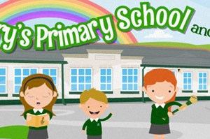 Return to school wellbeing is top of the agenda at St Mary's Primary, Portaferry after a difficult year